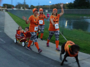 A-Paw-Colypse 5K race on October 20, 2018